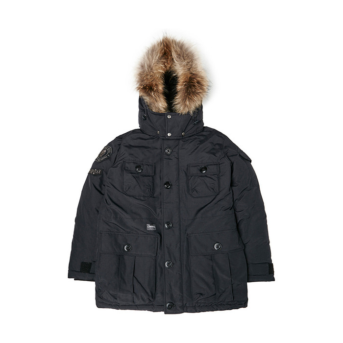 [PSLN] Explorer Parka Down Jacket (Black) STEREO-SHOP