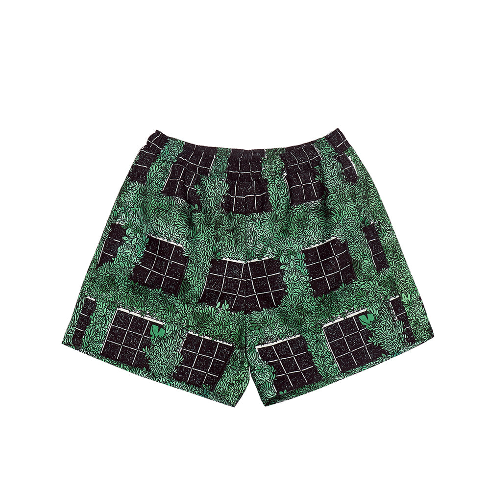 [SS18 Thibaud] Gongan Short Pants(Green) 스테레오 바이널즈