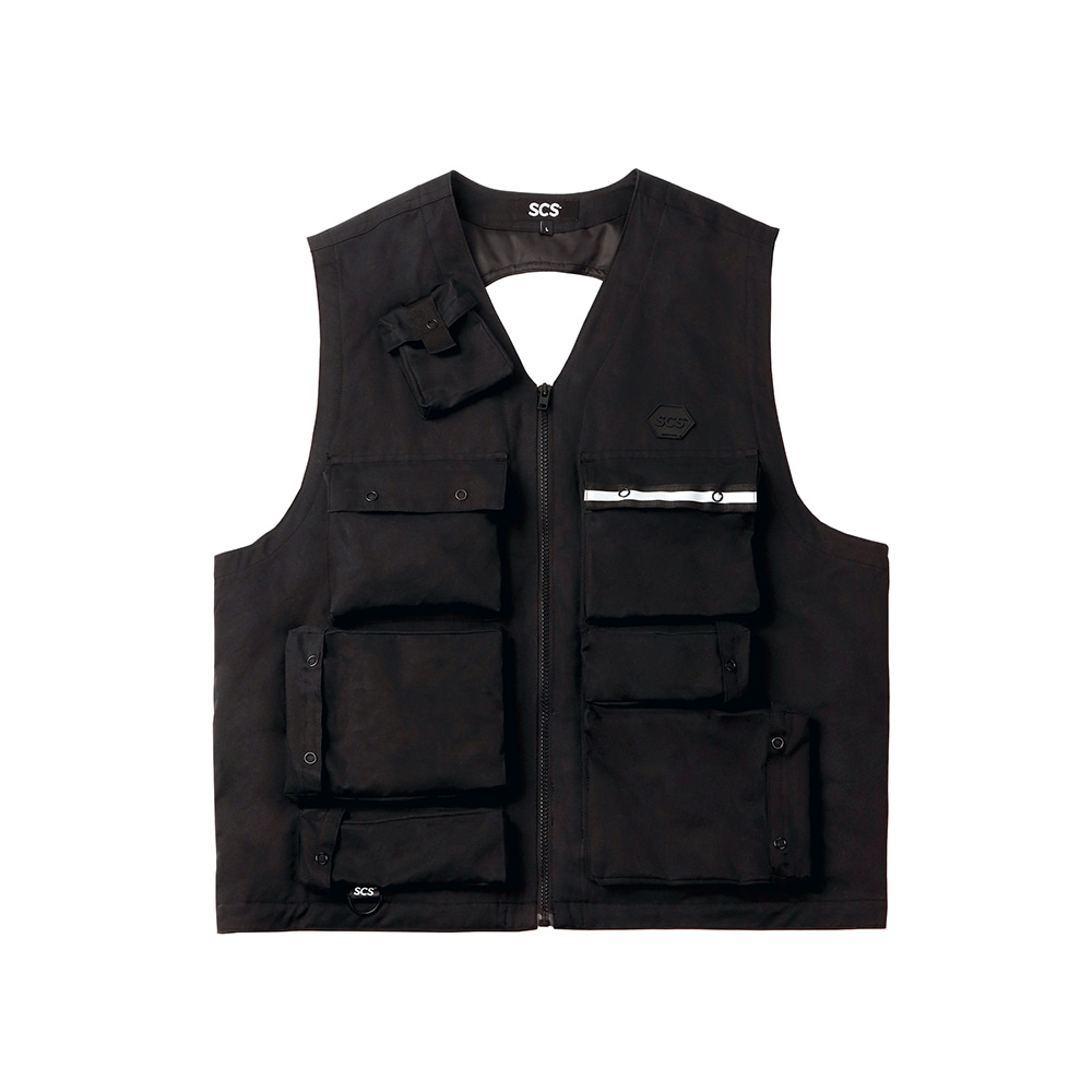 [FW18 SCS] 3M Thinsulate™ Utility Vest(Black) 스테레오 바이널즈