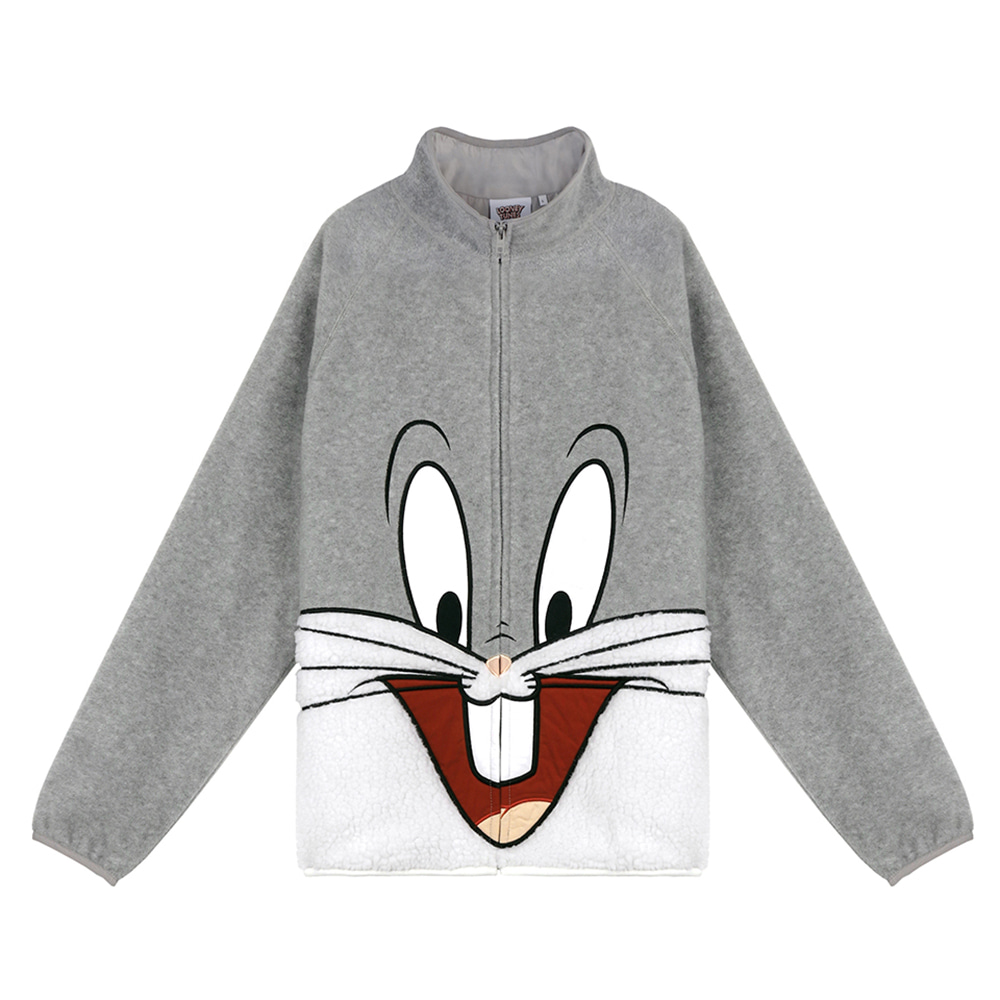 [SS19 STEREO X LOONEY TUNES] Boa Jumper(Grey) 스테레오 바이널즈