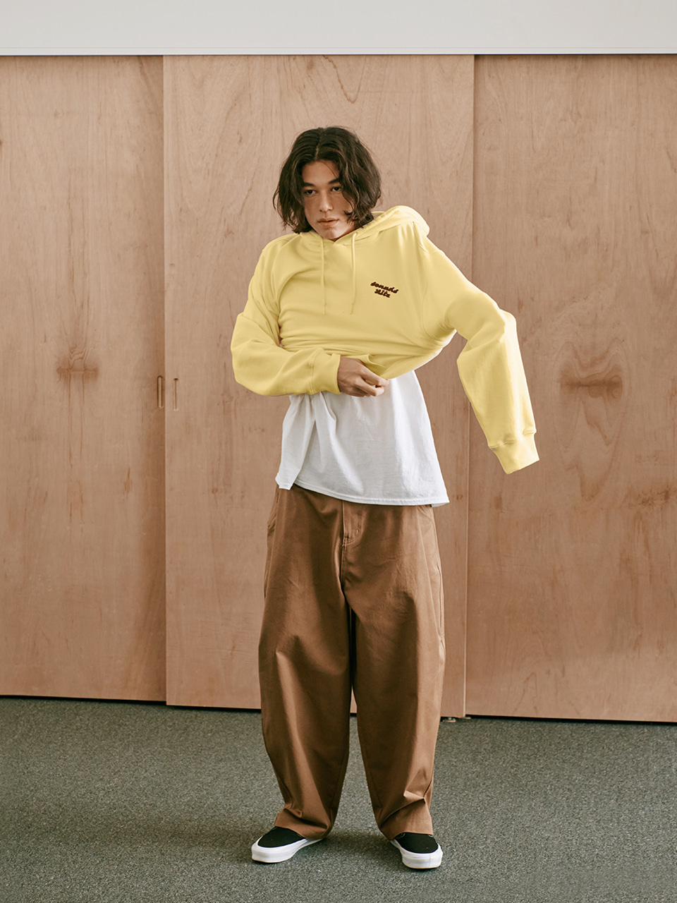 [FW20 Sounds Life] Balloon Snap Pants(Beige) 스테레오 바이널즈[FW20 Sounds Life] Balloon Snap Pants(Beige)
